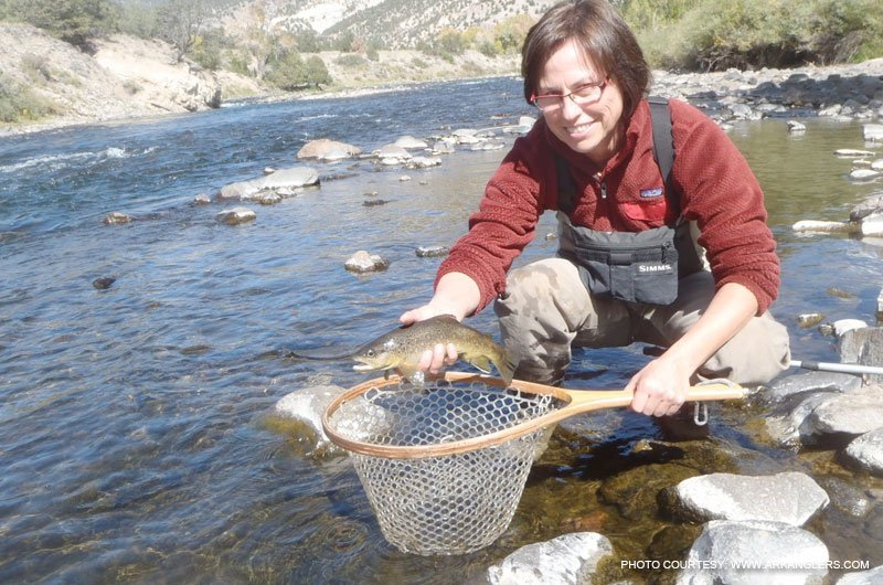 Fishing on the arkansas river between leadville and salida for Ar fishing report