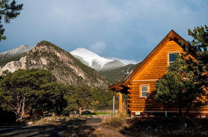 cabins for rent at mount princeton hot springs resort
