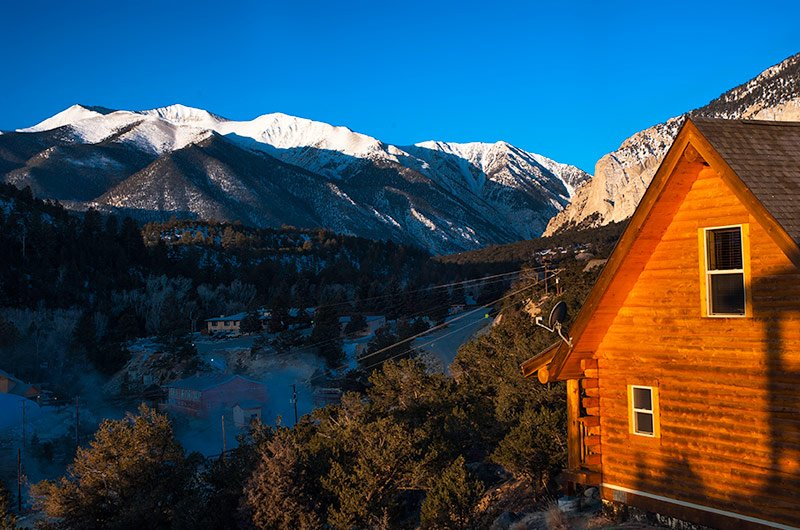 Cabins for rent at Mount Princeton Hot Springs Resort : cabin rentals colorado rocky mountains from mtprinceton.com size 800 x 530 jpeg 104kB