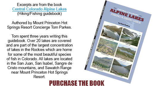 Central Colorado Alpine Lakes Guide Book