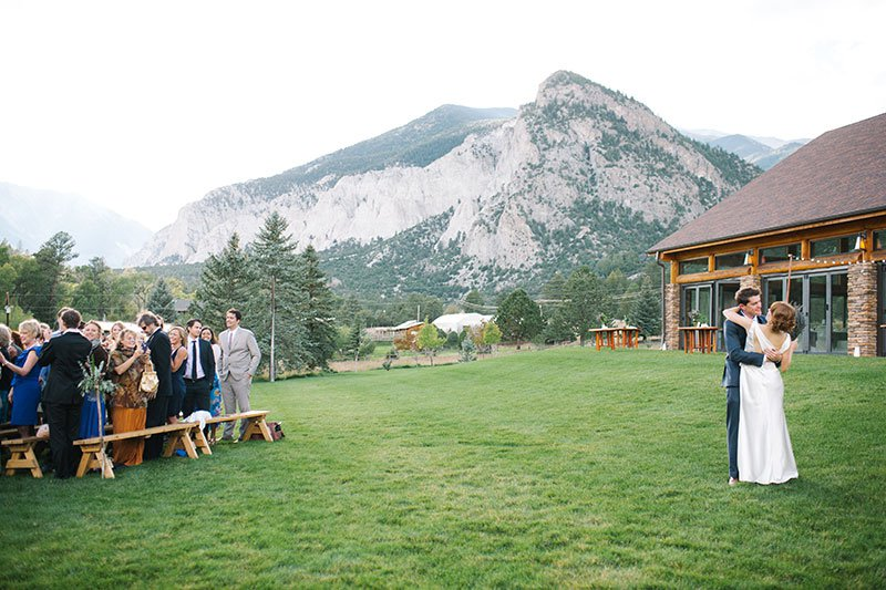 Colorado Rocky Mountain Wedding