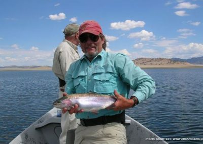 fishing-rainbow-trout-spiney-reservoir-colorado