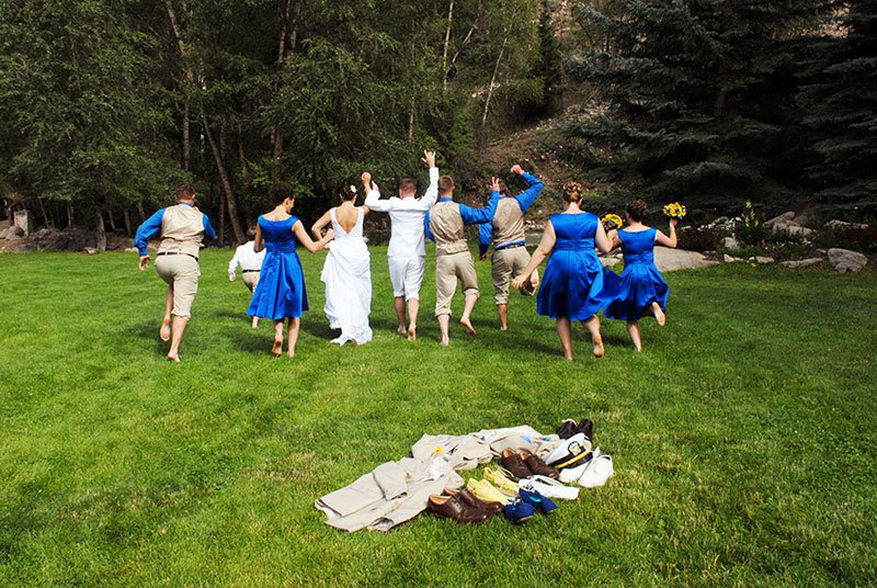 Outdoor weddings in Colorado at Mt. Princeton Hot Springs Resort