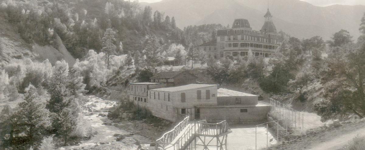 History Of Mount Princeton Hot Springs Resort In Colorado