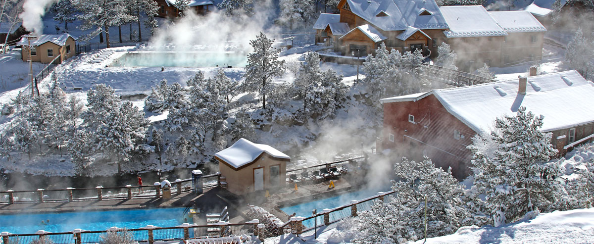 Hot Springs Complimentary With Your Overnight Stay