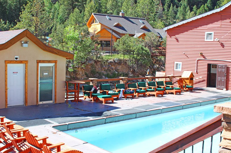 The historic bath house at mt princeton hot springs resort - Hotels in bath with swimming pool ...