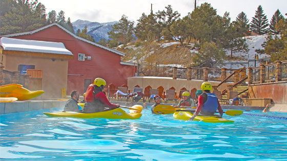 Kayak Classes In Hot Springs