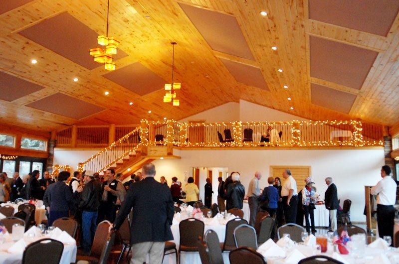Pavillon Party Galerie : Wedding events pavilion at mt princeton hot springs resort