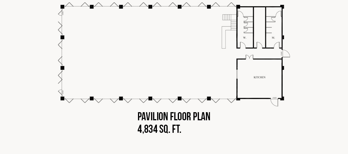Pavilion Floor Plan