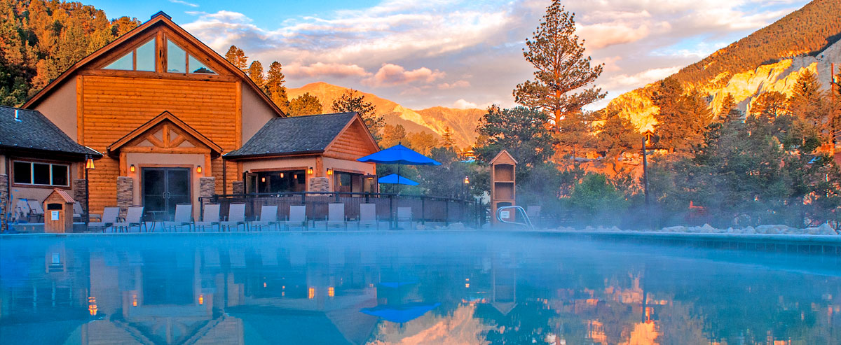 The Relaxation Pool At Mount Princeton Hot Springs Resort