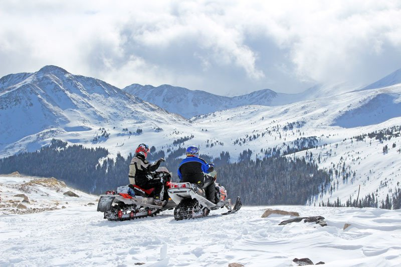 Snowmobiling St Elmo Mount Princeton Hot Springs Resort