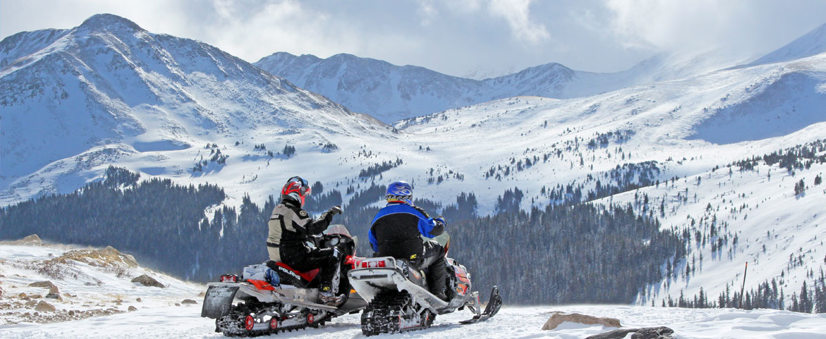 Snowmobiling Vacation At Mt Princeton Hot Springs Resort