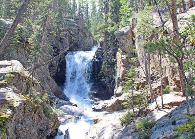 Brown's Creek Falls and Lake
