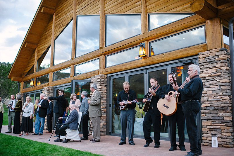 Wedding Band Outdoors Colorado