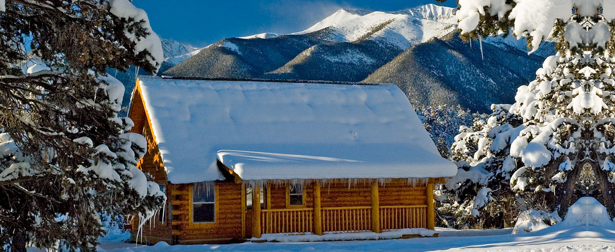 Winter Cabin Rental Colorado